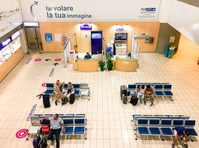 Trapani Airport serves Sicily west coast.